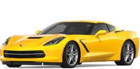 Corvette  - ZR1 2019 yellow - 1:24 - Motor Max - 79356y - mmax79356y | The Diecast Company