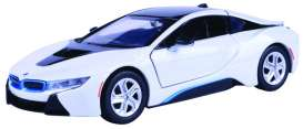 BMW  - I8 Coupé 2019 white - 1:24 - Motor Max - 79359w - mmax79359w | The Diecast Company