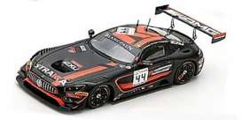 Mercedes Benz  - AMG GT3 2018 black/red - 1:43 - Spark - sb223 - spasb223 | The Diecast Company