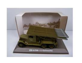 Military Vehicles  - ZIS-6/BM-13 1940 green/sand - 1:43 - Magazine Models - MILBL05 - magMILBL05 | The Diecast Company