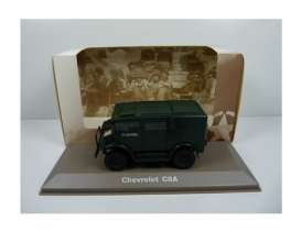 Military Vehicles  - Chevrolet C8A 1940 green/black - 1:43 - Magazine Models - MILBL25 - magMILBL25 | The Diecast Company