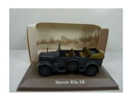 Military Vehicles  - Horch KFZ 15 1940 green/sand - 1:43 - Magazine Models - MILBL29 - magMILBL29 | The Diecast Company