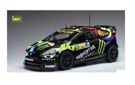 Ford  - Fiesta RS WRC 2012 black - 1:18 - IXO Models - rmc016 - ixrmc016 | The Diecast Company