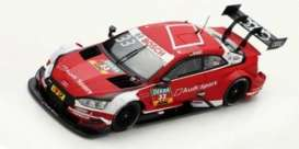 Audi  - 2018 red - 1:43 - Spark - SG431 - spaSG431 | The Diecast Company