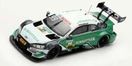 Audi  - 2018 green/white - 1:43 - Spark - SG432 - spaSG432 | The Diecast Company