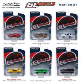 Assortment/ Mix  - various - 1:64 - GreenLight - 13230 - gl13230 | The Diecast Company