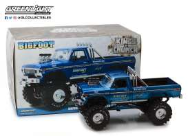 Ford  - F-250 Monster Truck 1974 blue - 1:18 - GreenLight - 13537 - gl13537 | The Diecast Company