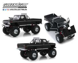 Ford  - F-250 Monster Truck 1979 black - 1:18 - GreenLight - 13538 - gl13538 | The Diecast Company