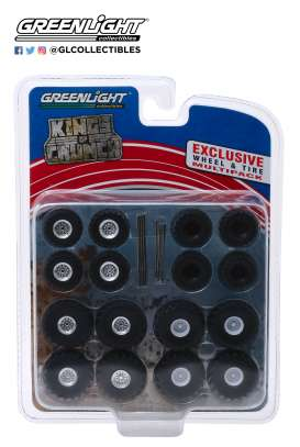 Wheels & tires Rims & tires - 2018  - 1:64 - GreenLight - 13169 - gl13169 | The Diecast Company