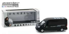 Ford  - Transit FBI 2015 black - 1:43 - GreenLight - 86157 - gl86157 | The Diecast Company