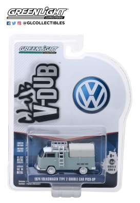 Volkswagen  - Type 2 1974 grey - 1:64 - GreenLight - 29940D - gl29940D | The Diecast Company