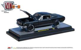 Ford  - Mustang 1966 black/grey - 1:24 - M2 Machines - 40300-64B - M2-40300-64B | The Diecast Company