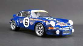 Porsche  - 911 RSR 1973 blue/white - 1:18 - GT Spirit - US015 - GTUS015 | The Diecast Company