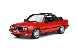 BMW  - E30 Baur 1988 red - 1:18 - OttOmobile Miniatures - 767 - otto767 | The Diecast Company