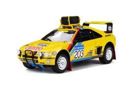 Peugeot  - 405 T16 1990 yellow/black - 1:18 - OttOmobile Miniatures - 532 - otto532 | The Diecast Company