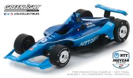 Honda  - 2019 blue - 1:64 - GreenLight - 10838 - gl10838 | The Diecast Company
