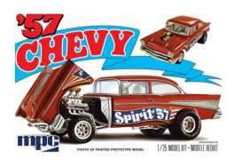 Chevrolet  - 1957  - 1:24 - MPC - 904 - mpc904 | The Diecast Company