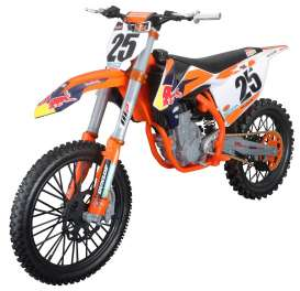 KTM  - 450 SX-F orange/blue/white - 1:6 - Maisto - 32227o - mai32227o | The Diecast Company