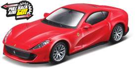 Ferrari  - 812 Superfast red - 1:43 - Bburago - 36121 - bura36121 | The Diecast Company