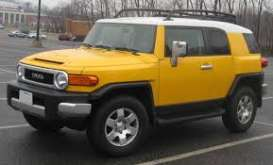 Toyota  - FJ Cruiser yellow - 1:24 - Fujimi - 066134 - fuji066134 | The Diecast Company