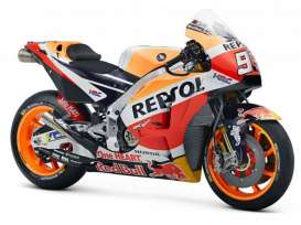 Honda  - RC213V orange/red/black - 1:18 - Maisto - 34595M - mai34595M | The Diecast Company