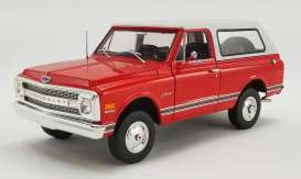 Chevrolet  - K5 Blazer 1969 red/white - 1:18 - Acme Diecast - 1807701 - acme1807701 | The Diecast Company