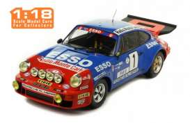 Porsche  - 911 Carrera 1979 red/blue - 1:18 - IXO Models - rmc026 - ixrmc026 | The Diecast Company