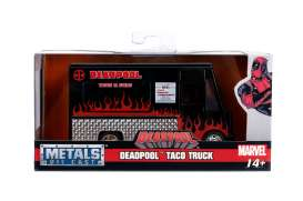 Deadpool  - Taco Food Truck 2017 black/red - 1:32 - Jada Toys - 30864 - jada30864 | The Diecast Company