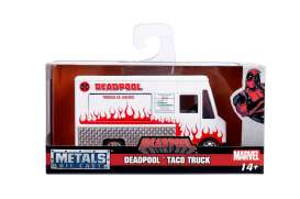 Deadpool  - Taco Food Truck 2017 white/red - 1:32 - Jada Toys - 99800 - jada99800 | The Diecast Company