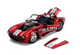 Shelby  - Cobra 427 S/C 1965 candy red - 1:24 - Jada Toys - 30705 - jada30705 | The Diecast Company