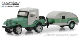 Jeep  - CJ-5 1972 green - 1:64 - GreenLight - 32160B - gl32160B | The Diecast Company