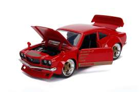 Mazda  - RX-3 1974 candy red - 1:24 - Jada Toys - 30718 - jada30718r | The Diecast Company