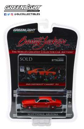 Chevrolet  - Camaro ZL1 1969 red - 1:64 - GreenLight - 37160D - gl37160D | The Diecast Company