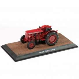 Tractor  - Bukh D30 1958 red - 1:32 - Magazine Models - TR2517023 - magTR2517023 | The Diecast Company