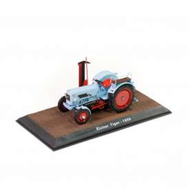 Tractor  - Eicher Tiger 1959 blue - 1:32 - Magazine Models - TR2517024 - magTR2517024 | The Diecast Company