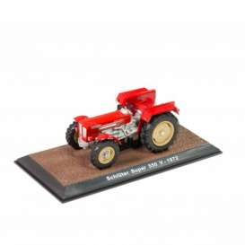 Tractor  - Schluter Super 550V 1972 red - 1:32 - Magazine Models - TR2517030 - magTR2517030 | The Diecast Company