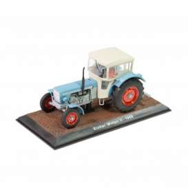 Tractor  - Eicher Wotan II 1968 blue/white - 1:32 - Magazine Models - TR7517015 - magTR7517015 | The Diecast Company
