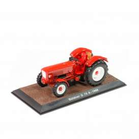 Tractor  - Guldner G75A 1968 red - 1:32 - Magazine Models - TR7517017 - magTR7517017 | The Diecast Company