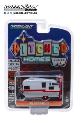 Shasta  - white/red - 1:64 - GreenLight - 34060F - gl34060F | The Diecast Company