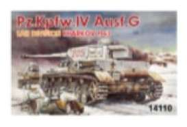 Military Vehicles  - Pz.IV Ausf.G  - 1:144 - Dragon - 14110 - dra14110 | The Diecast Company