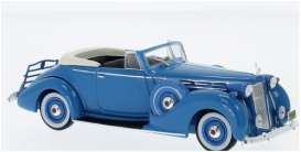 Packard  - Victoria 1938 blue - 1:43 - IXO Museum - MUS075 - ixmus075 | The Diecast Company