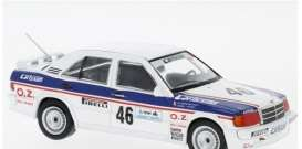 Mercedes Benz  - 1986  white/blue - 1:43 - IXO Models - GTM126 - ixGTM126 | The Diecast Company