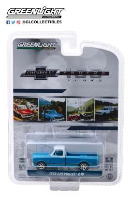 Chevrolet  - C-10 1972 blue - 1:64 - GreenLight - 27970C - gl27970C | The Diecast Company