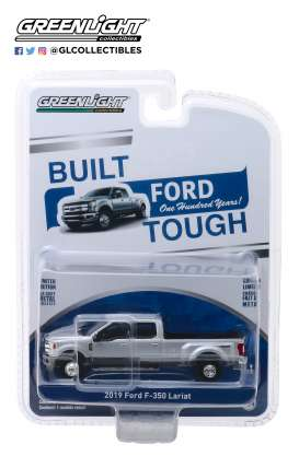 Ford  - F-350 2019 grey - 1:64 - GreenLight - 27970F - gl27970F | The Diecast Company