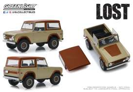 Ford  - Bronco 1970 brown - 1:18 - GreenLight - 19057 - gl19057 | The Diecast Company