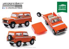 Ford  - Bronco 1977 red-orange - 1:18 - GreenLight - 19058 - gl19058 | The Diecast Company