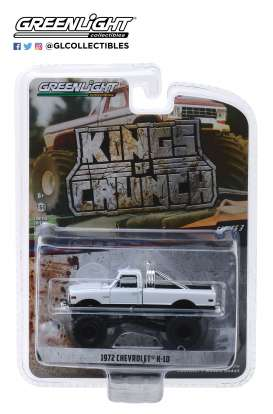 Chevrolet  - K-10 white - 1:64 - GreenLight - 49030C - gl49030C | The Diecast Company