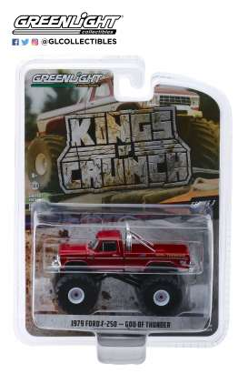 Ford  - F-250 1979 red - 1:64 - GreenLight - 49030E - gl49030E | The Diecast Company