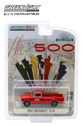 Chevrolet  - C-10 1967 red - 1:64 - GreenLight - 30030 - gl30030 | The Diecast Company