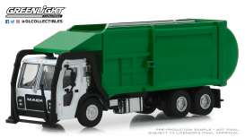 Mack  - LR Refuse 2019 green - 1:64 - GreenLight - 45060C - gl45060C | The Diecast Company